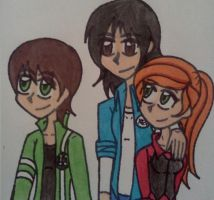 Ben, Kevin, and Gwen by Nicktoons4ever