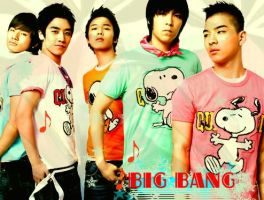 BIG BANG - kpop by ilovethefunnybambi