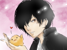 Hibari and Hibird by KaikaKaze