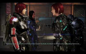 ME3 CDLC - Ellis Shepard Meets Clone by chicksaw2002