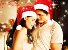 Edward and Bella's  Christmas by milkshake16