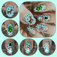 Christmas 2015 Mani 2 left by MikariStar