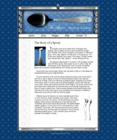 The Spoon Page design. by Legallydead