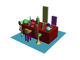 3D Unbirthday Party by steemedrice