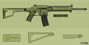 KelTec SU16 Concept Color by cityofthesouth