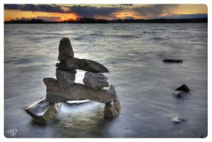 Tiny Colossus of Ottawa River by AmirNasher