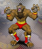 Zangief Furred Strike by Foot-paws