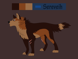 Sereveih reference sheet by Sylean