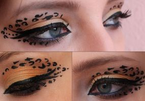 Classic Leopard/panter REDO! by FloralPainting
