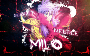 Saint Seiya - Milo Wallpaper by TheWolfMonster