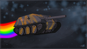 Nyan tank! by LightningCato