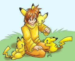 Pika-ness colored by nepryne
