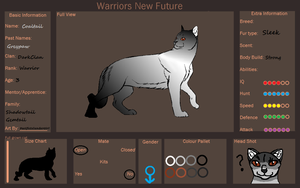 Warriors New Future App: Coaltail by PacificIslanderGirl