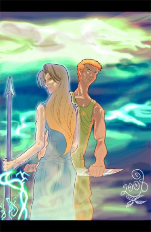 Ares and Athena