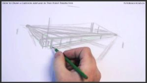 Learn How To Draw A Cartoon Airplane 005 by drawingcourse