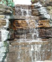 Waterfall 2 by GRANNYSATTICSTOCK