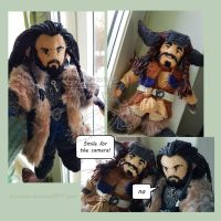 Mini Thorin and Bofur by Berende