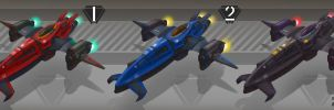 Vehicle IV-RCi colour variations by Zansen