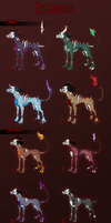 .:ADOPT: Hellhounds:. by Goddess-of-BUTTSECKS