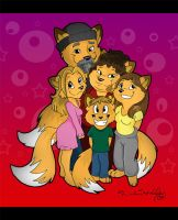 The Halley Family by Capricornfox
