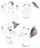 Dipstick Facial Expressions 2 by T-Shadow-Dragon