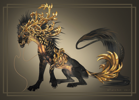 Golden Tiger by Tatchit