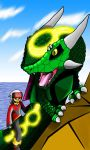 A Dragon and Its Boy by SillyEwe