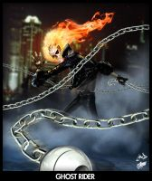 One Ghost Rider by shokenshin