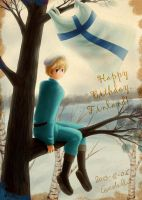 Happy Birthday Finland! by Eeveetachi