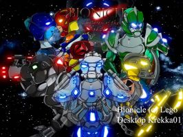 Bionicle Desktop 2 by Krekka01