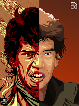 Taufan young Devil by Yusuf-Graphicoholic