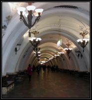 Metro in Moscow by carepa