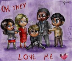 Hannibal - Oh, they love me by FuriarossaAndMimma