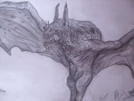 Giant bat by Teratophoneus