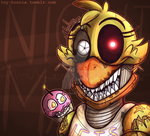 Nightmare Chica by AnimatronicBunny