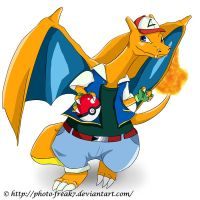 Contest- Charizard in disguise by Photo-Freak7