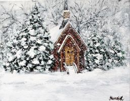 Little Chapel in Yosemite by ThisArtToBeYours