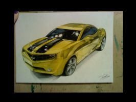 Cheverolet Camaro for request FINISHED by turanneth
