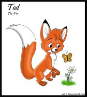 Tod The Fox by MeckelFoxStudio