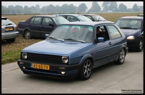 1989 VW Golf by compaan-art