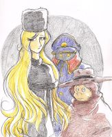 Galaxy Express 999 by adamis