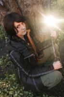 Katniss - Within the Games by AmeZaRain