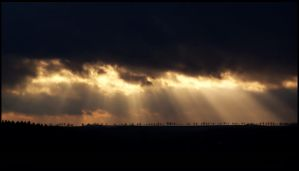 rays of the sun by Hasche