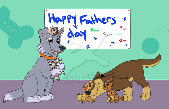 First Fathers Day by Musicalmutt2