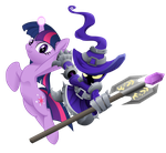Twilight x Veigar (no BG) by Airhooves