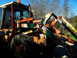 Hillbilly BackHoe by specialoftheweek