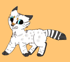 Warrior cat adopt OPEN by BlackyPaws