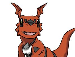 guilmon by chrissy098