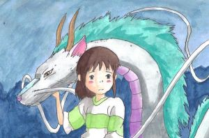 Spirited Away by little-ampharos
