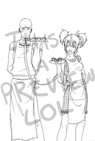 Tea and Buiscuts - PREVIEW by nekokyuuketsuki